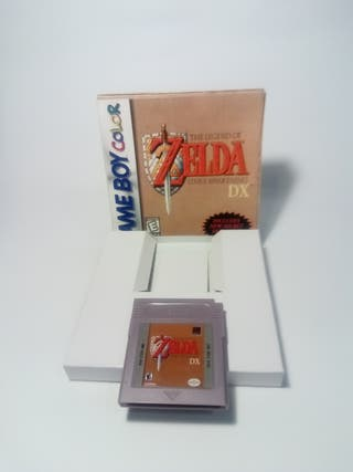zelda a link awakening DX game boy color ESPAÑOL