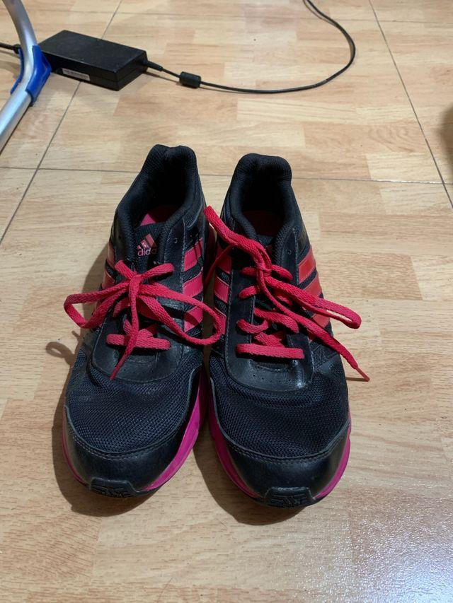 Zapatillas adidas rosas