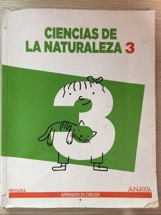 Libro ciencias de la naturaleza 3 de primaria