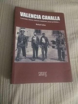 libro VALENCIA CANALLA