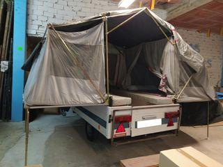 Remolque - tienda de camping