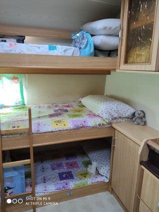 Caravana Instalada en Camping