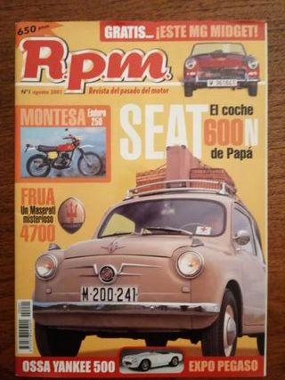 Revista RPM número 1.