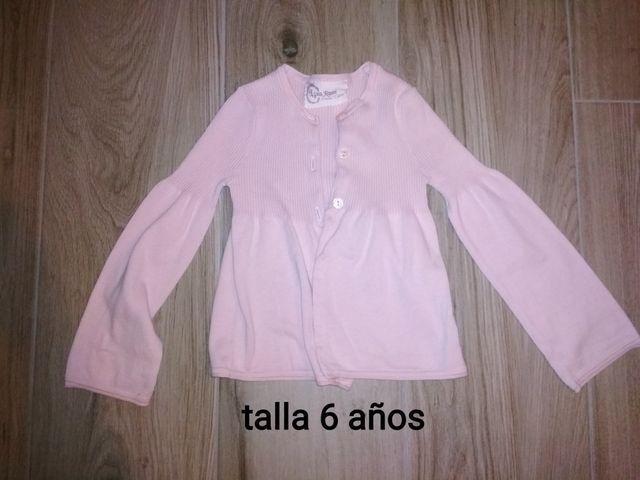 chaqueta niña talla 6