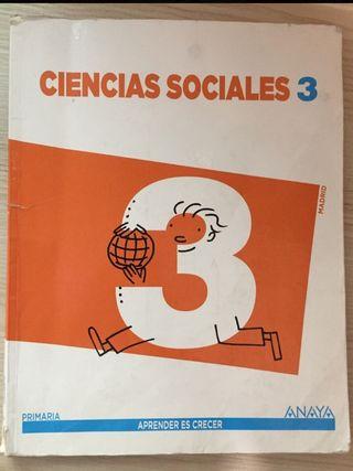 Libro ciencias sociales 3 de primaria