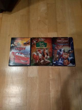 pack 3 películas. las 3 - 5€