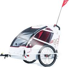 Carro bicicleta doble marca LEGGERO -Bike trailer
