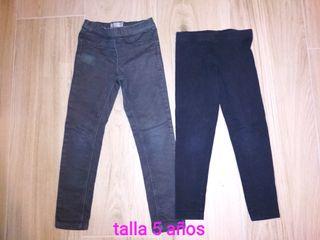 pantalones niña talla 5