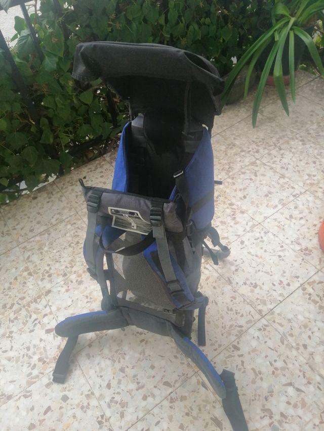 Mochila portabebés senderismo Decathlon