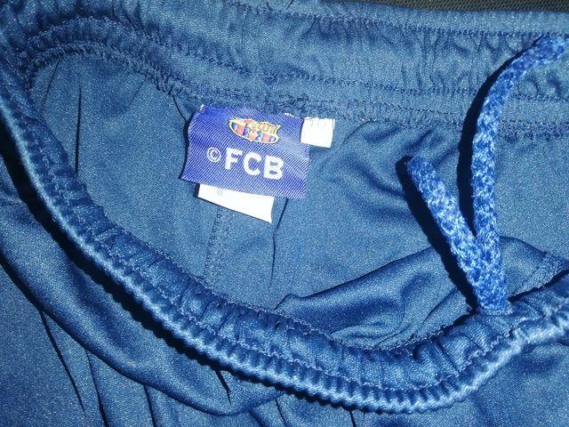 pantalón oficial del equipo del FC Barcelona