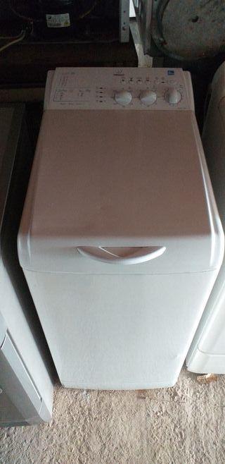 lavadora indesit carga superior de 6 kg