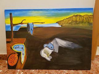 cuadro de Dalí