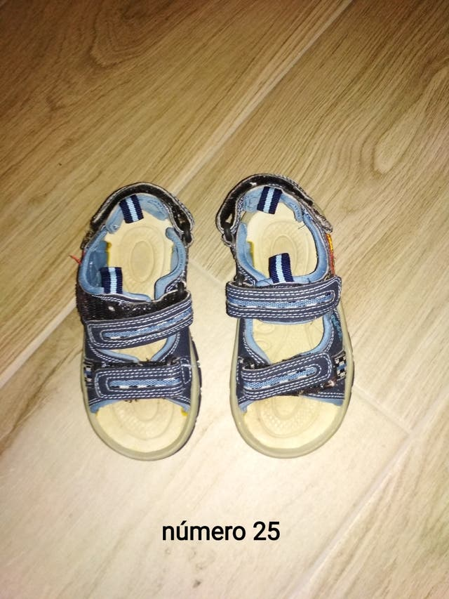 sandalias niño 25