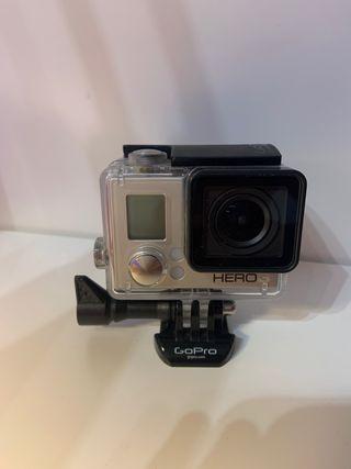 GoPro hero 3 white + palo acuático