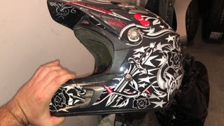 Casco motocross fox v2