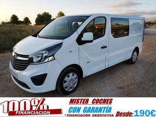 VENDO Opel Vivaro 120 CV 2015 6 PLAZAS
