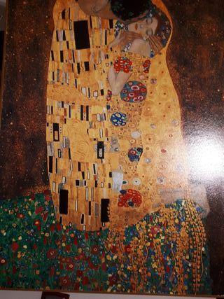 Cuadro El Beso Klimt