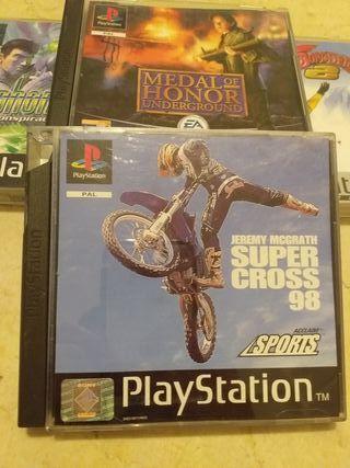 súper cross 98 psx ps1