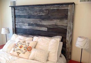 Cabeceros cama madera palets rusticos