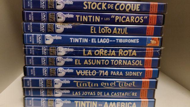 10 películas de animación de Tintín DVD