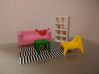 muebles de muñecas ikea
