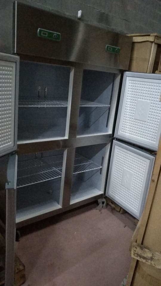 armarios inox,neveras,mesas ingredientes liquidaci