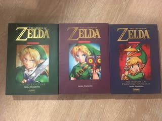 "Pack de tres comics/mangas de ""The legend of zelda"