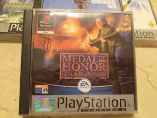 medal of honor underground ps1 psx