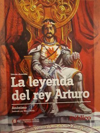 novela juvenil la leyenda del rey arturo
