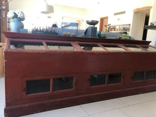 Mostrador antiguo para venta a granel