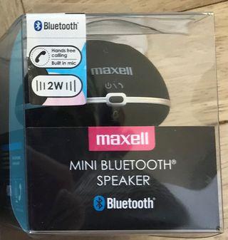 Mini bluetooth speaker maxell