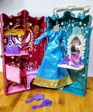 Armario muñeca Frozen Elsa Barbie