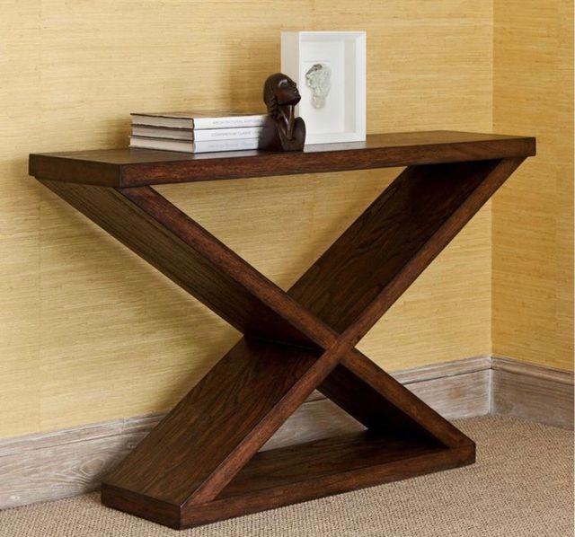 Mueble recibidor consola madera palets