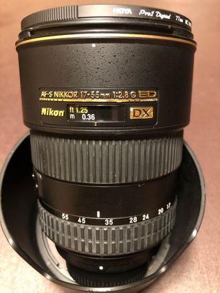 Objetivo Nikon 17-55 2.8