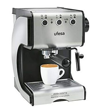 Cafetera UFESA CE7141 DuettoCreme - Cafetera Expre