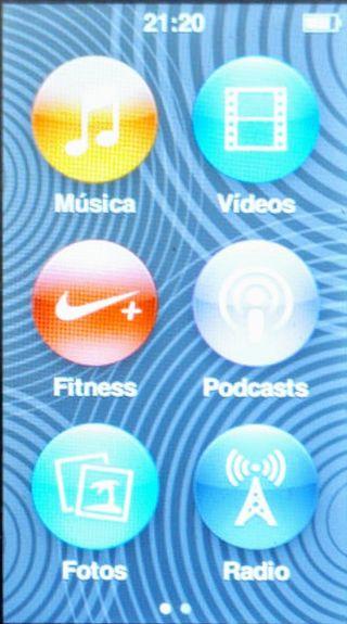 iPod nano 7°Gen (soporta auriculares inalámbricos)