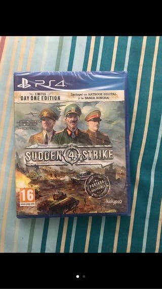 Sudden strike ps4