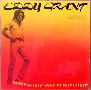 "EDDY GRANT ""WALKING ON SUNSHINE"" LP"
