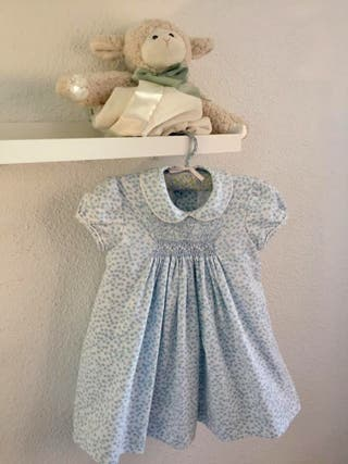 Vestido azul 1 año