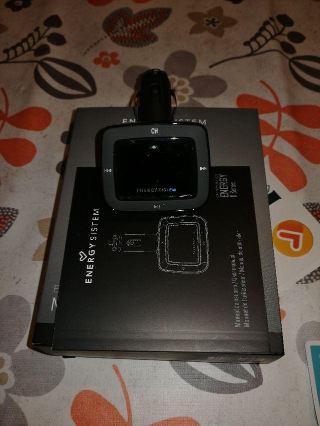 Reproductor MP3 para coche con transmisor FM