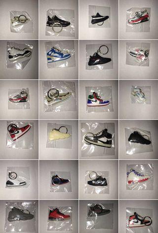 Shoe keyring