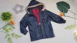 PVP 500€ abrigo chaqueton de piel TALLA M