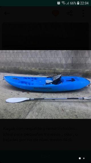 kayak en Pontevedra