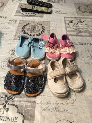 Zapatos niña 20