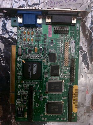 Tarjeta gráfica PCI Matrox MGA-1064SG (Mystique)