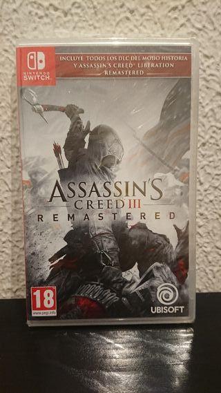 (PRECINTADO) Assassin's Creed III Remastered