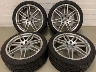 "Llantas Audi Originales 19"""