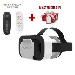 Gafas VR de real virtual