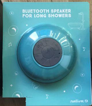 Bluetooth speaker for long showers