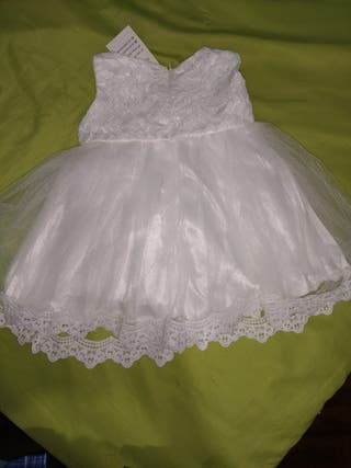 Vestido de fiesta 9 meses